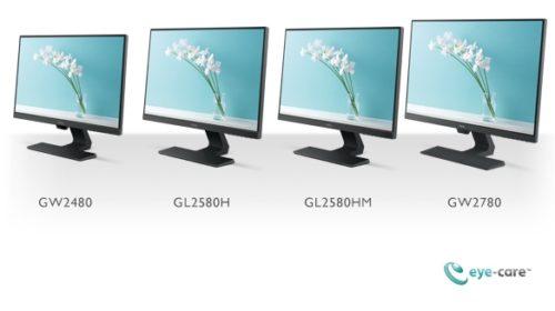 GW2480, GW2780, GL2580H a GL2580HM