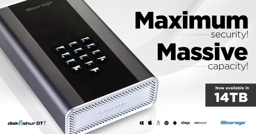 diskAshur DT2 14TB