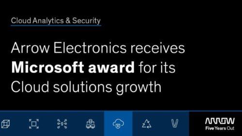 Microsoft ocenil Arrow jako nejlepšího nepřímého poskytovatele roku 2019