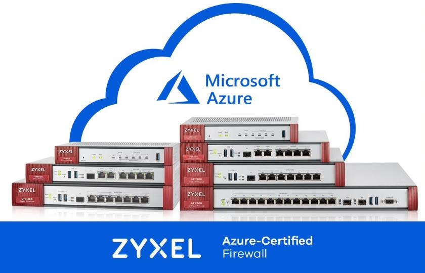 Zyxel Azure-certified