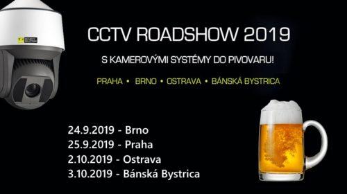 Pozvánka na pivní CCTV ROADSHOW