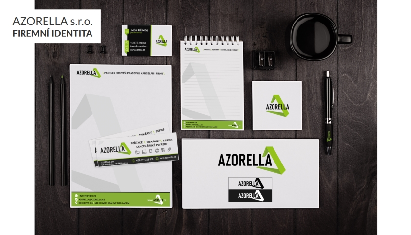 Azorella firemni identita