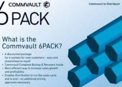 Commvault 6 pack reseller