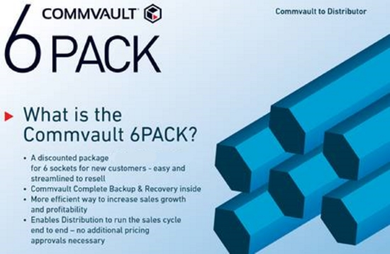 Commvault 6 pack reseller