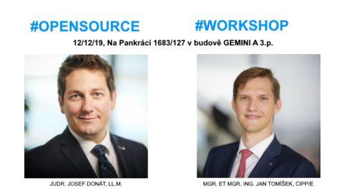 Workshop: Open source při vývoji softwaru