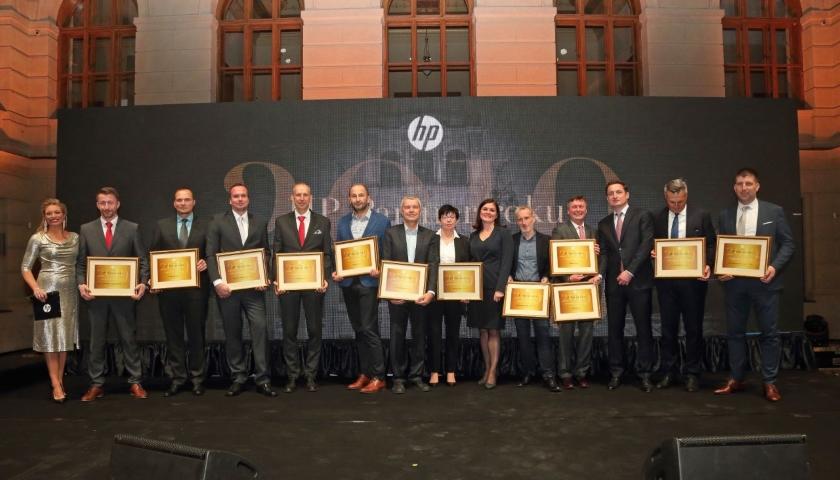 HP ocenilo obchodní partnery