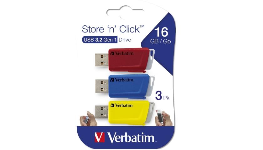 Verbatim Store'n'Click reseller