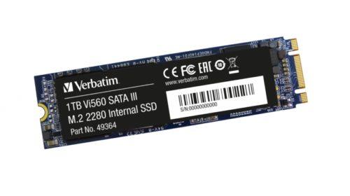 Verbatim představuje nové interní SSD disky NVMe PCIe a SATA3 M.2 pro vysokorychlostní upgrady