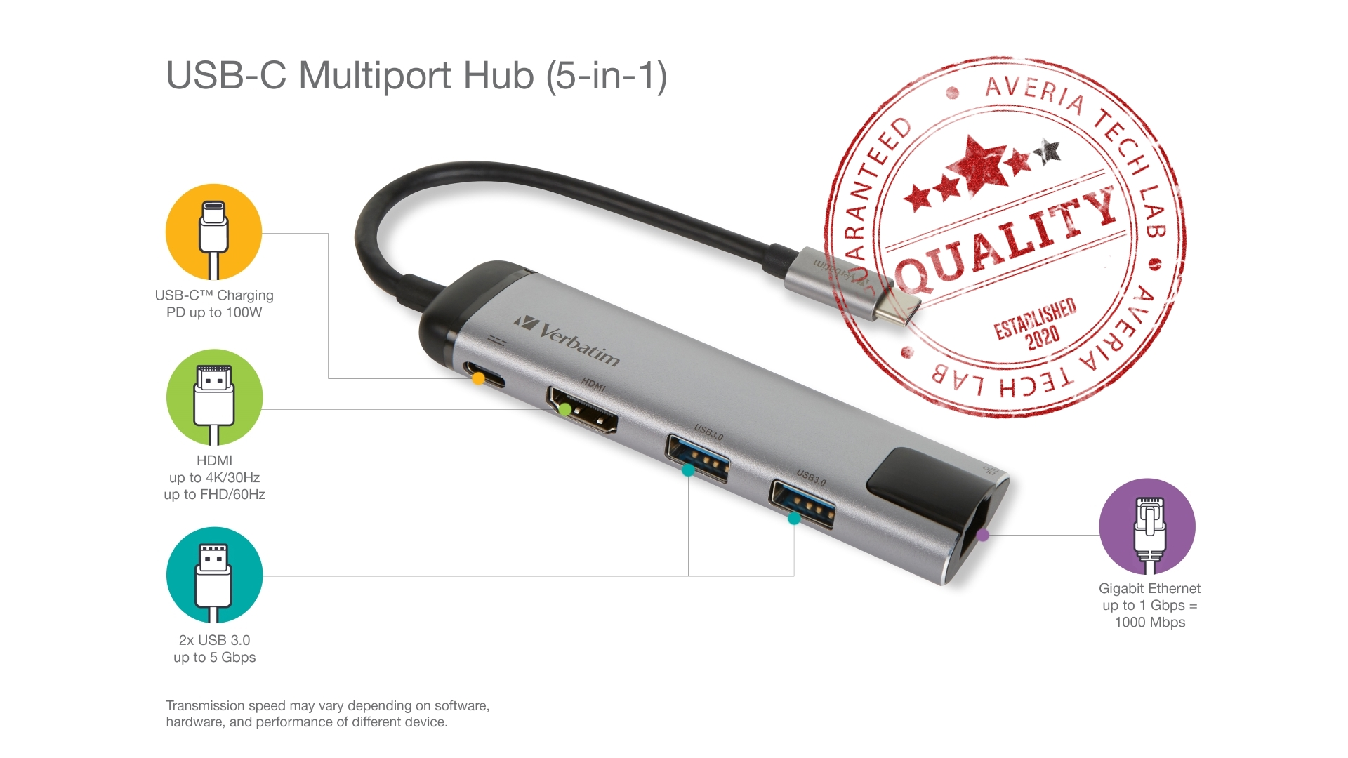 Verbatim USB-C Multiport Hub