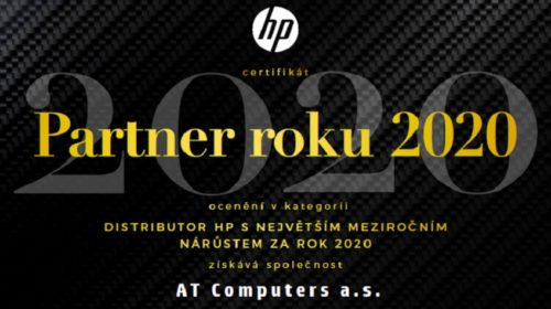 AT Computers HP partnerem roku 2020