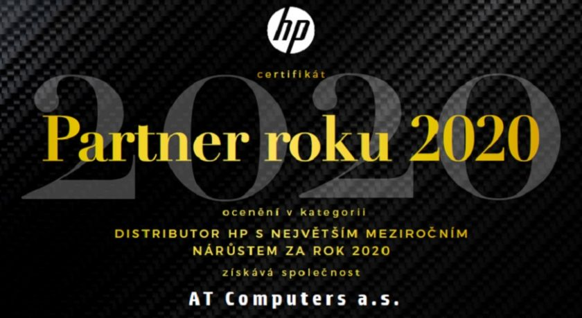 Certifikat HP pro ATComputers