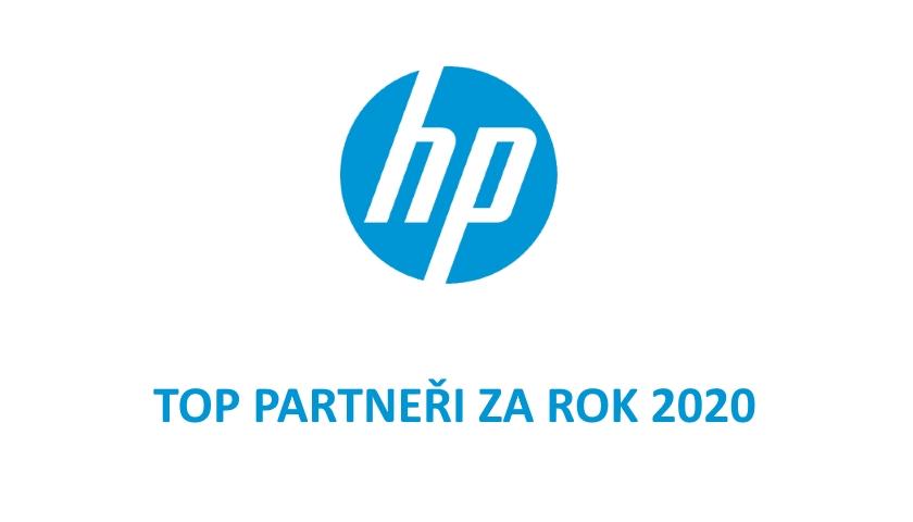 HP top partneři 2020