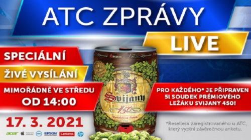 ATC Zprávy Live SPECIAL