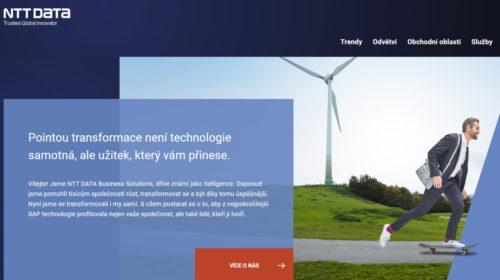 itelligence se mění na NTT DATA Business Solutions