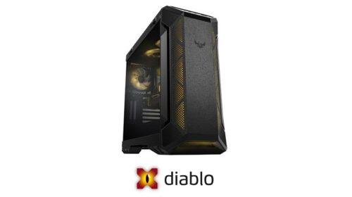 Grafiky TUF Radeon RX 6700XT v PC X-Diablo
