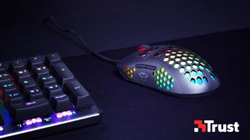 Superlehká myš Trust GXT 960 Graphin