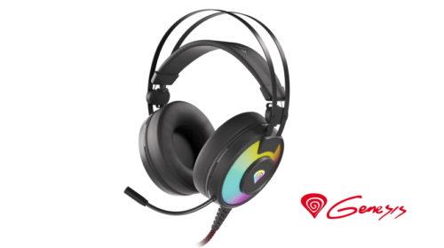 Herní sluchátka Genesis NEON 600 RGB